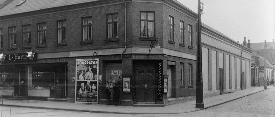 Metropolis biograf København for første gang